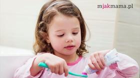 Pielęgnacja zębów mlecznych