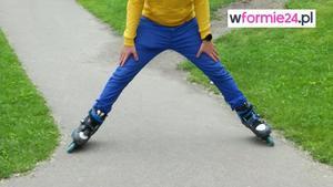 Jazda na rolkach – hamowanie pługiem