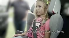 Dziecko w samochodzie - fotelik dla dziecka do 36 kg