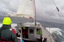 """""""Selma"""" płynie na Morze Rossa, wideo z pokładu"""