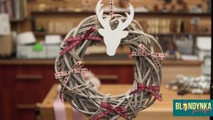 Wieńce na Boże Narodzenie - super pomysły na świąteczne dekoracje [WIDEO]