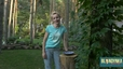 Drewniane poidełko dla ptaków