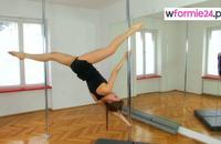 Pole dance - figury dla średniozaawansowanych