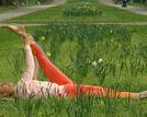 Trening stretchingowy z Olą Żelazo