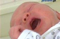 Świat oczami dziecka do drugiego miesięca życia