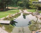 Aranżacja ogrodu: stawy kąpielowe