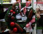 Jak zrobić stroik: świąteczny wianek na drzwi FILM