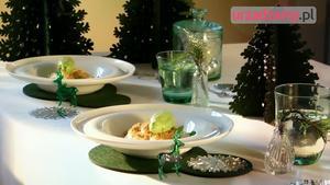 Świąteczna dekoracja stołu