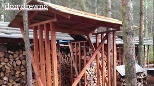 Drewutnia do ogrodu - jak zbudować samodzielnie drewutnię [WIDEO]