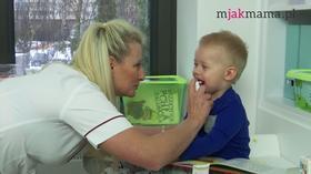 Pielęgnacja gardła i nosa dziecka