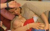 Pozycje podczas karmienia dziecka