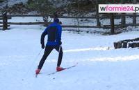 Narty biegowe - krok łyżwowy