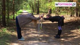 Rozciąganie po treningu nordic walking