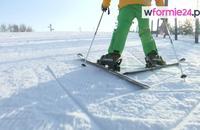 Nauka jazdy na nartach - jak podchodzić pod górę
