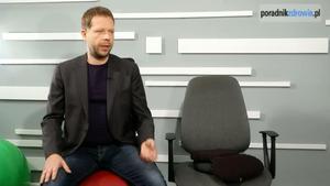Aktywne siedzenie to pomoc dla kręgosłupa