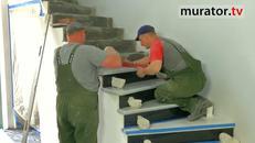 Schody zabiegowe - tajniki wykończenia schodów