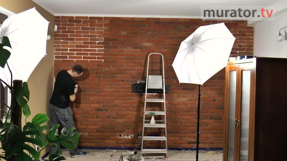 Płytki ceglane ze starej cegły - pomysł na modną ścianę