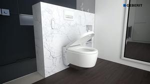 Instrukcja montażu toalety myjącej Geberit AquaClean Mera