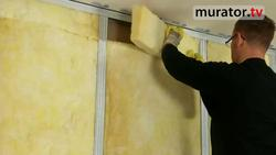 Ściany działowe w domu pasywnym - w suchej zabudowie