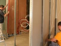 Remont. Nowe ściany działowe - w zabudowie lekkiej
