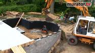 Fundament schodkowy