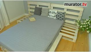 Jak zrobić sypialnię z palet
