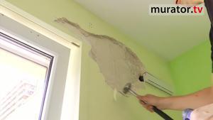 Naprawa popękanego tynku przed malowaniem