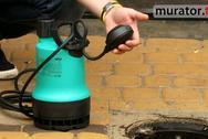 Sposób na odprowadzenie wody deszczowej. Pompa do wody brudnej