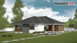 Znasz projekty domów Muratora? Zobacz zrealizowany Dom vis-à-vis (C126)