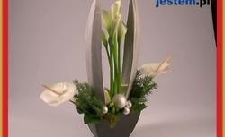 Świąteczne dekoracje roślinne