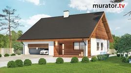 Planowanie budowy. Projekty gotowe Muratora Miarodajny (projektC333c)