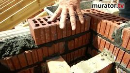 Błędy w budowie dachu - komin nie z dziurawki