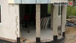 Montaż okien tarasowych w okrągłej ścianie