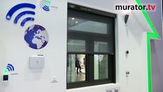 Markiza filtrująca VMZ cleanAir; system FAKRO smartHome Nowości FAKRO