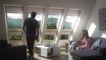 Nowoczesne okna balkonowe do poddaszy