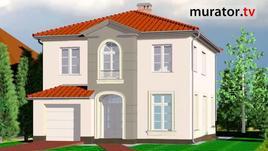 Niewielki dom piętrowy z płaskim dachem. Marlena i Tomasz planują budowę