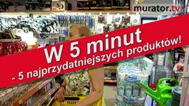 W hurtowni budowlanej - 5 produktów w 5 minut!