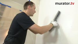 Wykończenie ścian - gładź szpachlowa