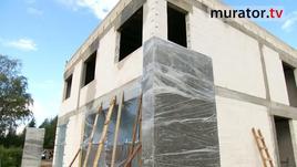 Inwestorka: Stan surowy na budowie domu pasywnego