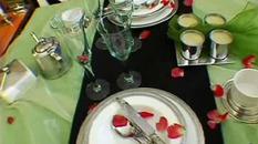 Jak powinno wyglądać nakrycie stołu dla dwojga?