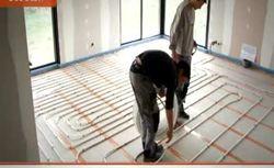 Wodne ogrzewanie podłogowe – montaż rur miedzianych