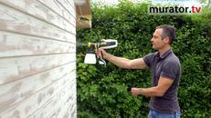 Malowanie natryskowe. Jak użyć pistoletu natryskowego na zewnątrz?