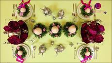 Pomysł na dekorację stołu wielkanocnego
