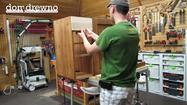 Jak wykonać szafkę łazienkową - cz. 6 - zawiasy i budowa szuflad