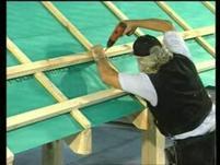 Łacenie połaci dachowej