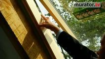 Montaż okna dachowego Fakro: uchylno-obrotowe FPP-V U3 PRES
