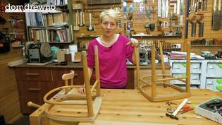 Odnawianie starych mebli - krzesła
