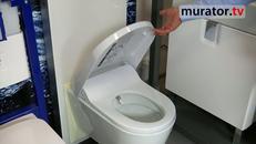 Nowości w łazience: toaleta myjąca, cienkościenna umywalka
