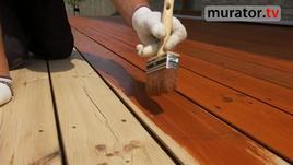 Olejowanie - renowacja tarasu drewnianego i mebli ogrodowych