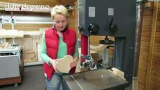 Drewniane, zdobione serce na Dzień Mamy - cz. 1 - przygotowania